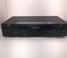 Jvc Hr-Vp693U Vcr 4-Head Hi-Fi Vhs Player Video Cassette Recorder Tested No Remo