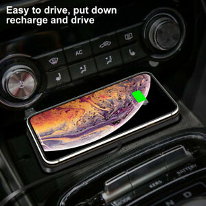 QI Car Fast Charging Wireless Charger Mat Pad Holder For iPhone Samsung~