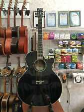 Working Electric Acoustic Guitar Cort SFX5 BLK