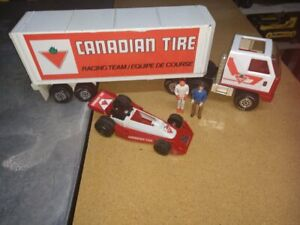 1980's Mini Tonka / Play People Canadian Tire Race Team Set Complete Super Rare