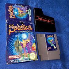 Solstice NES Nintendo Retrogames BOXED Scatola MATTEL ITA