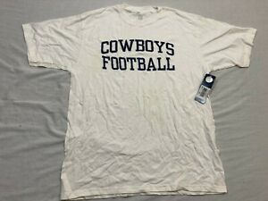 M51 RARE FLAWED REEBOK NFL Dallas Cowboys Football Tee T Shirt Jersey MEN'S M