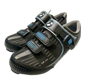 Bontrager Inform eSoles Cycling Shoes Women Race Road Sz US 8.5 EU 40 Black Blue