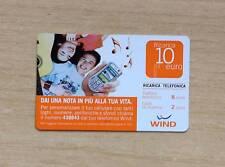 RICARICA TELEFONICA WIND - DAI UNA NOTA IN PIU' ALLA TUA VITA - 10 EURO