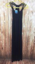 BNWT NEW LOOK SWIMWEAR Women's Ladies Jersey Rope Blue Maxi Beach Dress 8 36