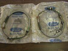 NOS OEM Ford 1978 1982 Fairmont + Zephyr Rear Brake Cables Pair 1979 1980 1981