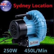 450L/min Air Pump Blower Water Feature For Fish Tanks&Aquariums Ponds AU PLUG