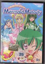 dvd MERMAID MELODY Principesse sirene HOBBY & WORK numero 25