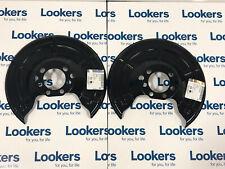 Genuine Vauxhall Astra G & H Zafira A & B Rear Brake Shields Plates X2 90498290