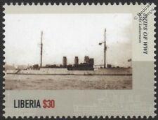 WWI HMS LABURNUM Royal Navy Acacia-Class Sloop / Minesweeper Warship Stamp