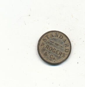 D5359   APOTH WEIGHT TOKEN P ROGERS  CO ONE DRAM