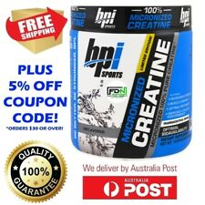 BPI Sports Micronized 100% Pure Creatine Monohydrate 50 Serves LIMITED EDITION