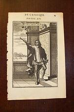 ✒ 1683 MANESSON MALLET ancien chevalier de l'ordre de MALTE