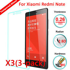 3Pack 9H Premium Real Screen Protector Tempered Glass Protective Film For Xiaomi