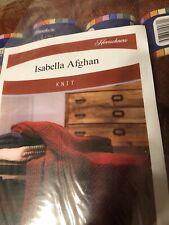 New listing Herrschners Isabella Afghan Kit Medium Rust