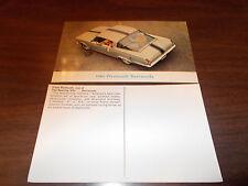 1965 Plymouth Barracuda Advertising Postcard