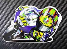 Valentino Rossi moto adesivo stickers Rossi Vale caricature tributo adesivi