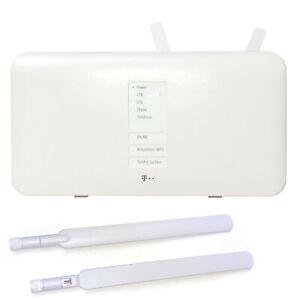 T-Mobile Speedport Hybrid 1300 Mbps WLAN Router inkl. zwei LTE Antennen #01