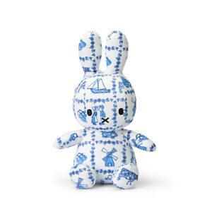 OFFICIAL MIFFY NIJNTJE SITTING DELFT SOFT TOY PLUSH DICK BRUNA COLLECTABLE