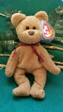 Rare Retired Ty Beanie Baby 039 Curly Bear Multiple Errors-Super Mint Condition