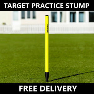 FORTRESS Cricket Fielding Target Stump   Cricket Practice Wicket High-Vis Stump