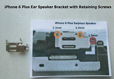 "iPhone 6 Plus 5.5"" Earpiece Speaker Bracket Holder + Retaining Screws x 3"