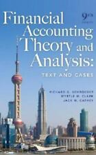 Financial Accounting Theory and Analysis: Text and Cases-ExLibrary