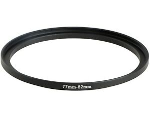 77mm to 82mm Stepping Step Up Filter Ring Adapter 77mm-82mm