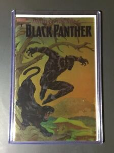 MARVEL ACTION BLACK PANTHER #1 1:100 FOIL COVER🔥BEAUTIFUL COPY🔥