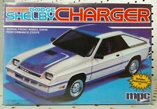 Vintage MPC 1/25 Model Kit - Dodge Shelby Charger Performance Coupe - 1-0718 NEW