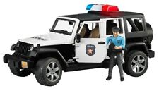 Bruder Jeep Wrangler Unlimited Rubicon Police Vehicle #5267