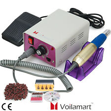 Electric Nail Drill Manicure Machine File Toe Beauty Acrylic Salon Tool 300 Band