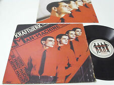 KRAFTWERK The Man Machine - PORTUGAL LP krautrock - Portuguese 1st release RARE