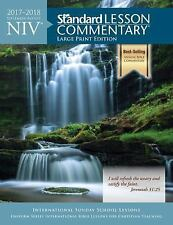New! Clearance! NIV® Standard Lesson Commentary® Large Print Edition 2017-2018