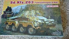 Dragon 1/72 Sd.Kfz.263 Funkspahwagen{8-Rad} #7444 *NEW SEALED*
