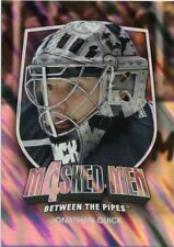 11/12 BETWEEN THE PIPES MASKED MEN 4 SILVER MASK #MM-36 JONATHAN QUICK *48331