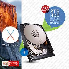 """IMac, Mac Pro:: 2 TB 7200 RPM 3.5"""":: Hard Drive avviabile (HDD):: Plug n Play"""