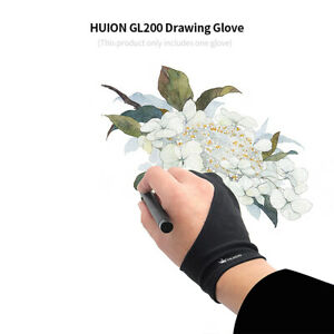 Huion Two Finger Anti-fouling Glove for Artist Drawing/Pen Graphic Tablet Pad