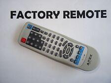APEX RM-1225 DVD PLAYER REMOTE CONTROL