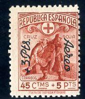 Sellos de España 1938 nº 768 Cruz Roja Española Nuevos sin fijasellos