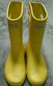 Hunter for Target Boys Girls Size 2 Unisex Yellow Rainboots