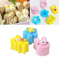 Cute Kids Lunch Sandwich Toast Cookies Bread Biscuit Food Cutter Mold Mould DIY