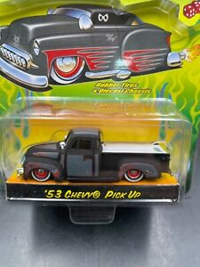 Jada Road Rats 1/64 1953 Chevy Pickup flat black