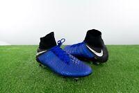 NEW! Nike Hypervenom Phantom IIl Elite DF Pro Cleats Blue Size 13 AJ6705-401
