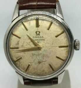Omega Seamaster 269 Vintage manual watch special Silver 1960s Rare Ref 19512032