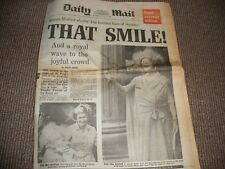 Daily Mail Newspaper 16th July 1980 Royal Souvenir Edition Queen Mother