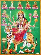wall prints nava warrior goddess Durga paper poster