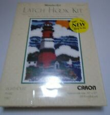 Nib Caron International Wonder Art Latch Hook Kit Lighthouse 4299 craft sew easy