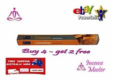 CINNAMON INCENSE NEW MOON Relaxation YOGA  Incense - HEX- 20g -20 Stick+SAMPLES