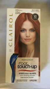Clairol Root Touch Up Permanent Hair Dye 6RR Intense Red